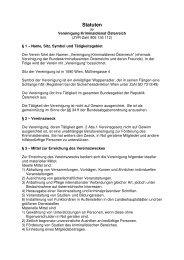 Statuten 2009 - Kripo.at