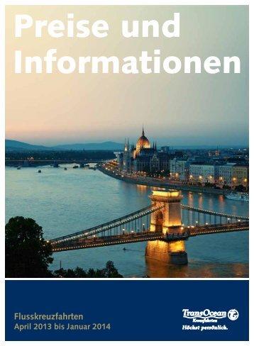 Klicken Sie für weitere Informationen und Preise ... - Transocean
