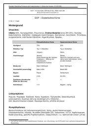 SOP Diabetisches Koma - Intensiv-med.de