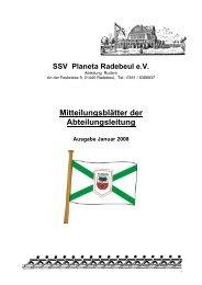 Januar 2008 - SSV Planeta Radebeul e.V.