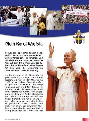 Mein Karol Wojtyla - Pfarrblatt St. Augustin