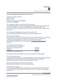 2010.10.06 Protokoll der Mitgliederversammlung - Brücke e.V.
