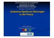 Autismus-Spektrum-Störungen in der Praxis