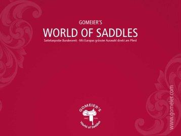gomeier's - Gomeier´s World of Saddles