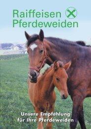 Folder Raiffeisen - Alles rund ums Pferd