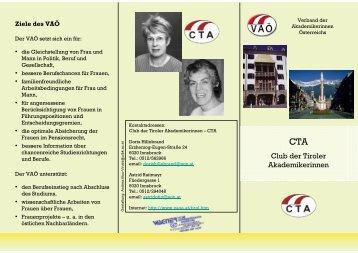 Club der Tiroler Akademikerinnen - Verband der Akademikerinnen ...