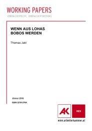 WENN AUS LOHAS BOBOS WERDEN - Arbeiterkammer