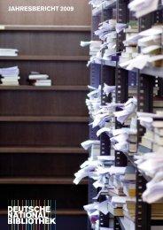 JAHRESBERICHT 2009 - Deutsche Nationalbibliothek