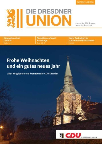 die dresdner union - CDU Dresden