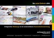 Download Webdesign Folder als PDF-Datei - Werbeagentur Morre