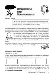 Elektrizitätslehre & Magnetismus
