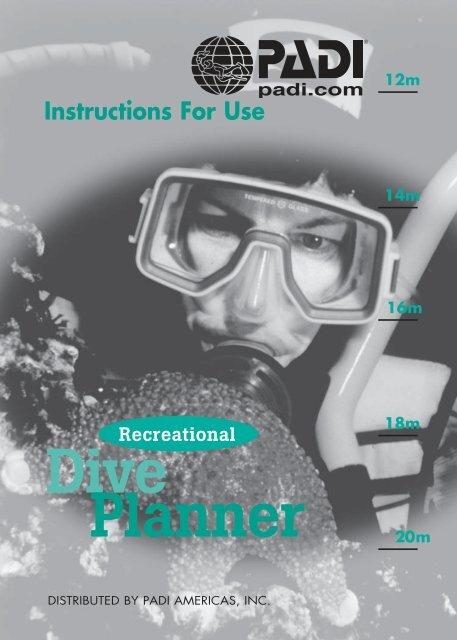 Recreational Dive Planner Padi