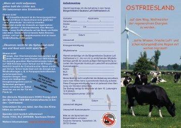 BI Saubere Luft Ostfriesland