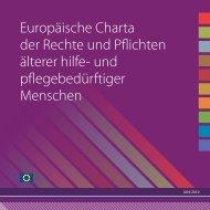 Europäische Charta der Rechte und Pflichten älterer hilfe ... - EDE
