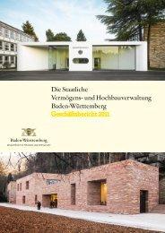 und Hochbauverwaltung Baden-Württemberg 2011