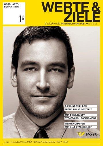 das magazin der Österreichischen post 2010.