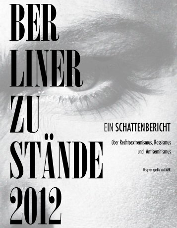 Berliner Zustände 2012 - Mbr