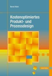 Kostenoptimiertes Produkt- und Prozessdesign - Die Onleihe