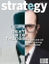 Next Big Things - Strategy