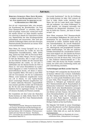 Dorothea Georgieff: Prof. Ernst Hammerschmidt und die ...