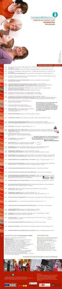 Programm zum Download (.pdf) - Frauengesundheitszentrum Graz