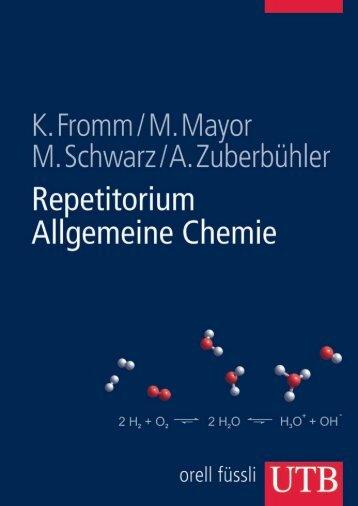 Leseprobe zum Titel: Repetitorium Allgemeine Chemie - Die Onleihe