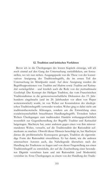 TuV Teil 3: Das Schlusskapitel mit dem ... - traditio.de