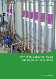 Broschüre Gasaufbereitung - EnviTec Biogas AG