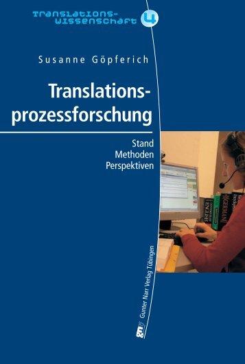 Translations- prozessforschung - Narr