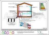 Sole-Wasser-Wärmepumpe mit Energiekörben, kontrollierte Lüftung ...