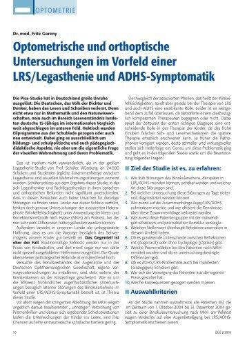 von Dr. med. Fritz - IVBS – Internationale Vereinigung für ...