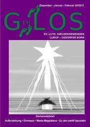 GehLos - Ausgabe Dezember 2010 - Lurob.de