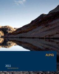 Geschäftsbericht 2011 PDF (3.8 MB) - Alpiq