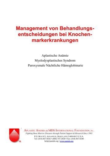 Management von Behandlungsentscheidungen bei ... - AA-PNH
