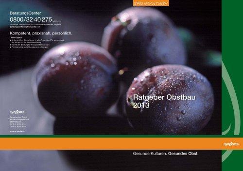 RG Obst 2013_1 - Syngenta