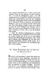 101 VI. Eirtige Bemerkungerr iiber die Yltererik; (ion Heinrich Hose.
