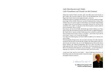 Aktuelle Ausgabe als PDF (1 MB) - Deutscher Verein vom Heiligen ...