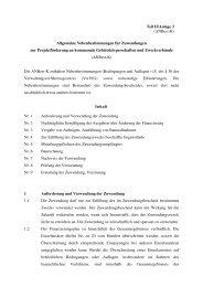 Teil II/Anlage 3 (ANBest-K) Allgemeine Nebenbestimmungen für ...