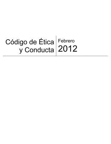 Código de Ética y Conducta - CrediClub
