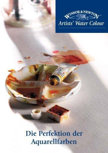 Künstler-Aquarellfarben - Der Farbklecks