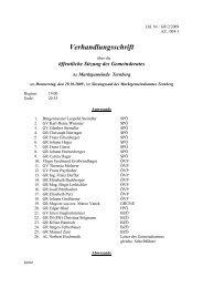 Gemeinderatssitzung 29.10.2009 (191 KB) - .PDF - Ternberg