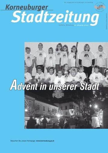 Stadtzeitung 4/2007 - Korneuburg
