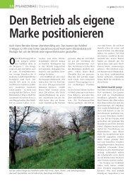Den Betrieb als eigene Marke positionieren - Haldihof