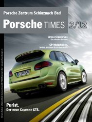Download PDF. - Porsche Service Zentrum Schinznach Bad