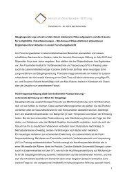 Forschungsbericht Stipendiatinnen 2010-2012 - Heinrich ...