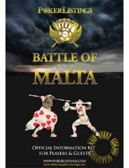 Battle of Malta - Poker