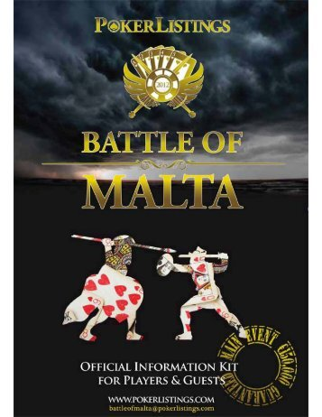 Battle of Malta - Poker
