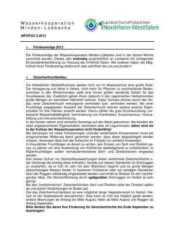 Rundschreiben 3 / 2012 vom 24.07.2012