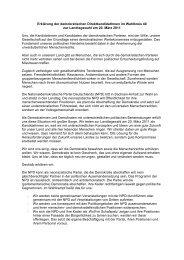 Merseburg - Kein Ort für Neonazis in Sachsen-Anhalt