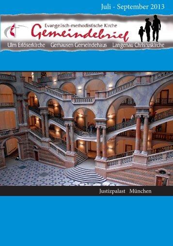 Juli - September 2013 - EmK Ulm